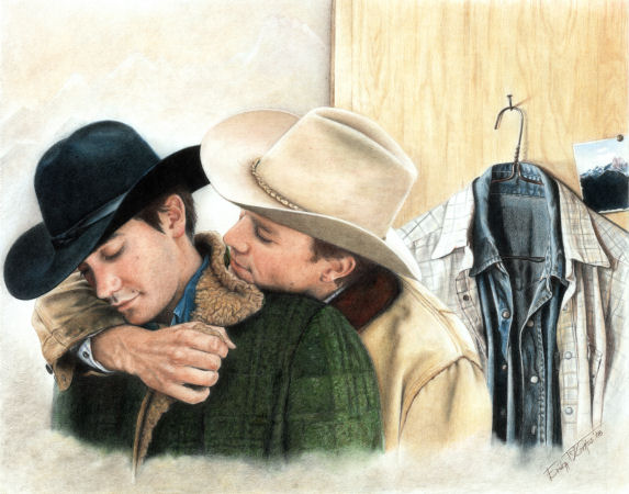 Brokeback Mountain Color Print